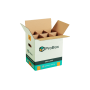reinforced box with double thickness for 6 bottles
