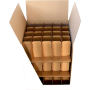 Cardboard Barrel 75 glasses reinforced double thickness